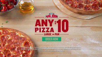 Papa John's TV Spot, 'Any Pizza for $10'