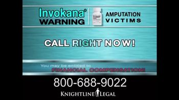 Knightline Legal TV Spot, 'Invokana'