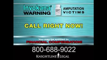 Knightline Legal TV Spot, \'Invokana\'