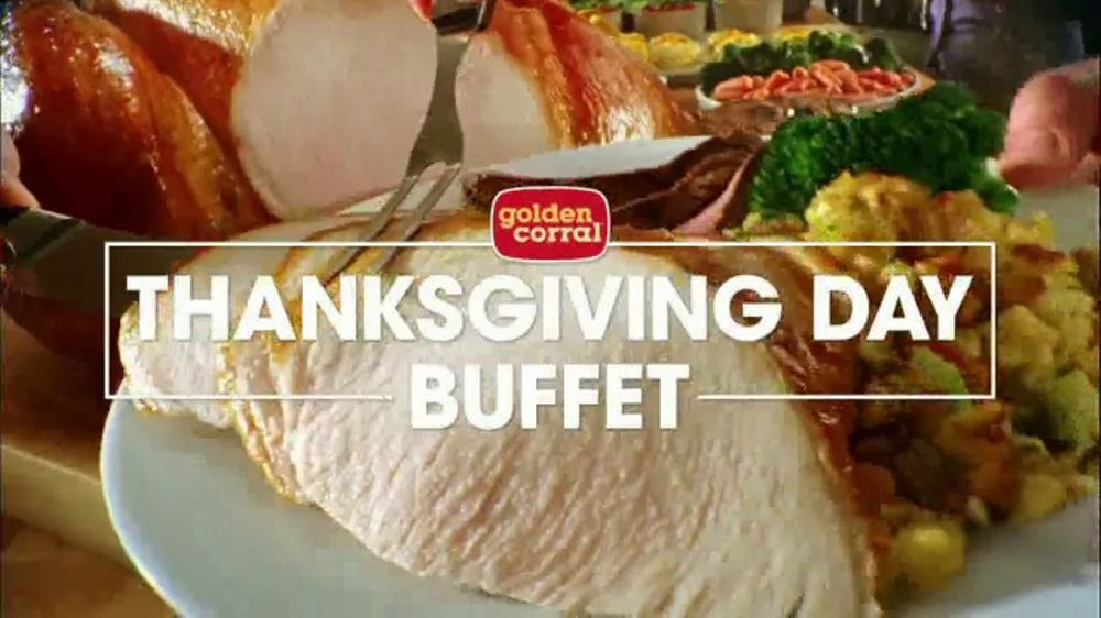 Golden Corral Thanksgiving Day Buffet Tv Commercial