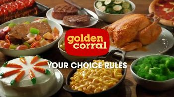 Golden Corral Thanksgiving Day Buffet TV Spot, 'Holiday Feast' - Thumbnail 10