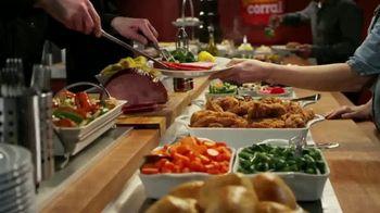 Golden Corral Thanksgiving Day Buffet TV Spot, 'Holiday Feast' - Thumbnail 4