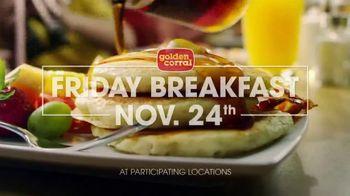 Golden Corral Thanksgiving Day Buffet TV Spot, 'Holiday Feast' - Thumbnail 7