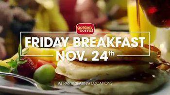 Golden Corral Thanksgiving Day Buffet TV Spot, 'Holiday Feast' - Thumbnail 8