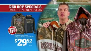 Bass Pro Shops 5 Day Sale TV Spot, 'Red Hot: Shirts, Hoodies and Rain Suit' - Thumbnail 7