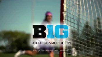 Big Ten Conference TV Spot, 'Faces of the Big Ten: Selena Lasota' - Thumbnail 8