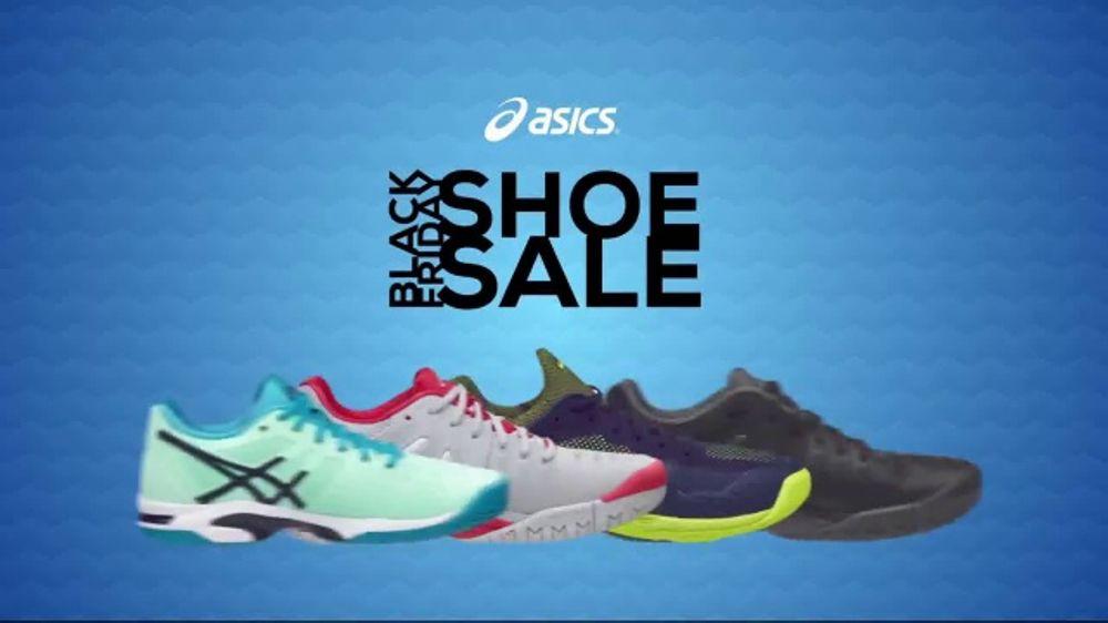 2eec3413b4dd Tennis Warehouse ASICS Black Friday Shoe Sale TV Commercial ...