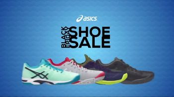 Tennis Warehouse ASICS Black Friday Shoe Sale TV Spot, 'Happening Now'
