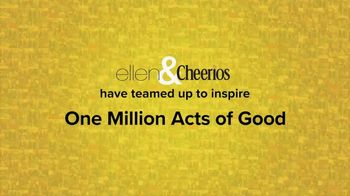 Cheerios TV Spot, 'One Million Acts of Good: Ellen' - Thumbnail 1
