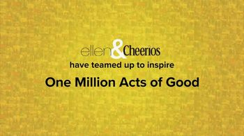 Cheerios TV Spot, 'One Million Acts of Good: Ellen'