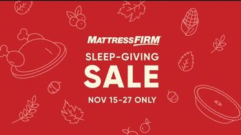 Mattress Firm Sleep-Giving Sale TV Spot, 'Turkey' - Thumbnail 8