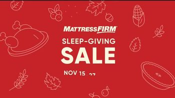 Mattress Firm Sleep-Giving Sale TV Spot, 'Turkey' - Thumbnail 4