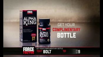 Force Factor Alpha King TV Spot, 'Extra Boost' Featuring Bo Jackson - Thumbnail 5
