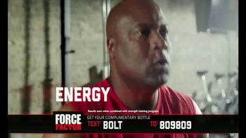 Force Factor Alpha King TV Spot, 'Extra Boost' Featuring Bo Jackson - Thumbnail 8