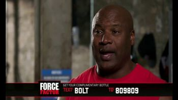 Force Factor Alpha King TV Spot, 'Extra Boost' Featuring Bo Jackson - Thumbnail 9