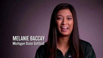 Big Ten Conference TV Spot, 'Faces of the Big Ten: Melanie Baccay'