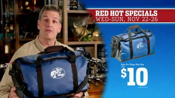 Bass Pro Shops 5 Day Sale TV Spot, 'Red Hot: Hoodies, Bags and Socks' - 42 commercial airings