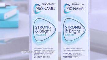 ProNamel Strong & Bright Enamel TV Spot, 'Can I Make My Teeth Whiter?' - Thumbnail 4