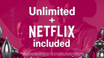 T-Mobile Unlimited TV Spot, 'Holiday TWOgether' - Thumbnail 3