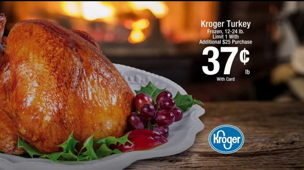 The Kroger Company TV Commercial, 'Holiday Inspiration: Turkey'