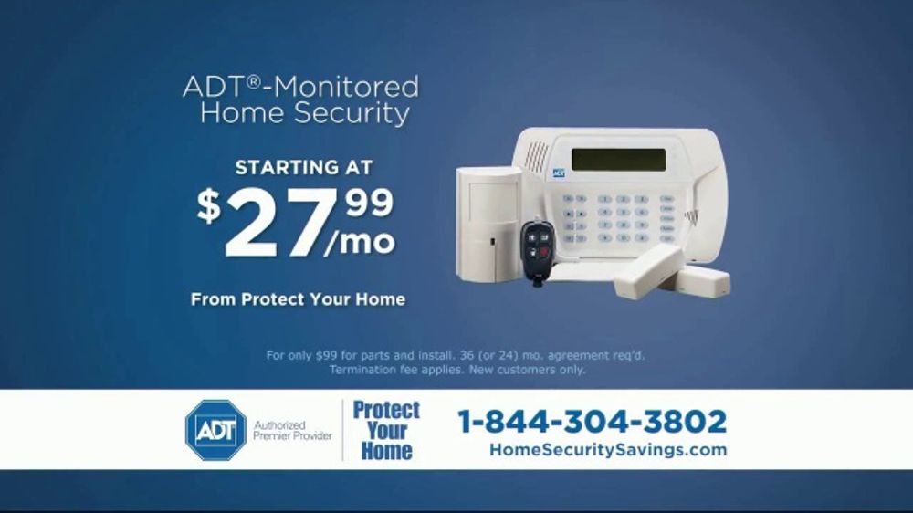 Protect Your Home TV Commercial, 'The Protection You Deserve'