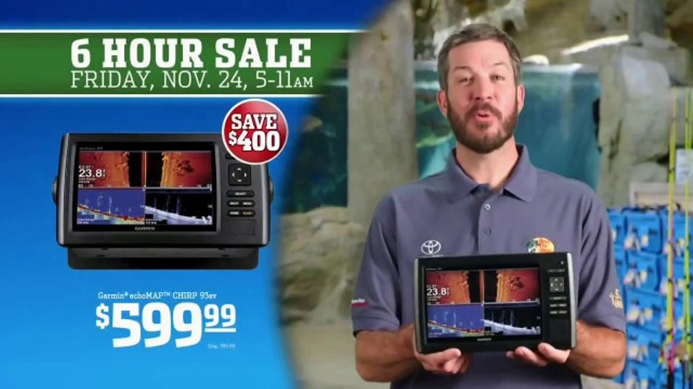 Bass Pro Shops 6 Hour Sale TV Commercial, 'Men's Jeans and Garmin'