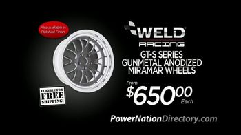 PowerNation Directory TV Spot, 'Wheels, Top-End Kits and Seats'