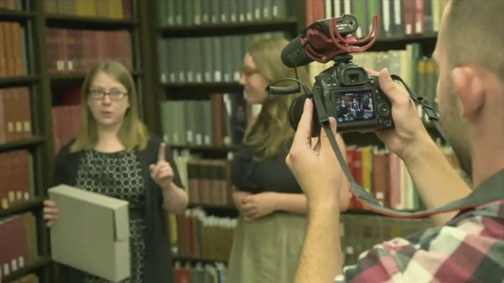 BTN Live Big TV Commercial, 'Iowa Librarians Get Social With Special Collections'