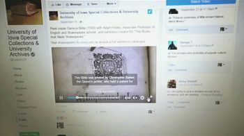 BTN Live Big TV Spot, 'Iowa Librarians Get Social With Special Collections' - Thumbnail 4