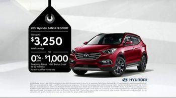 Hyundai Black Friday Sales Event TV Spot, '2017 Santa Fe Sport'