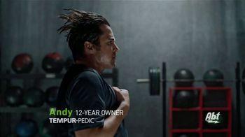 Tempur-Pedic TV Spot, 'Train Hard. Sleep Hard: Financing' Featuring Andy Stumpf