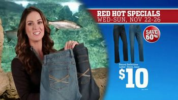 Bass Pro Shops 5 Day Sale TV Spot, 'Red Hot: Ladies' Jeans and Trail Shoes'
