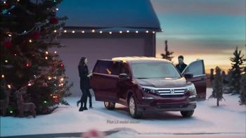 Happy Honda Days TV Spot, 'Holiday Detour'
