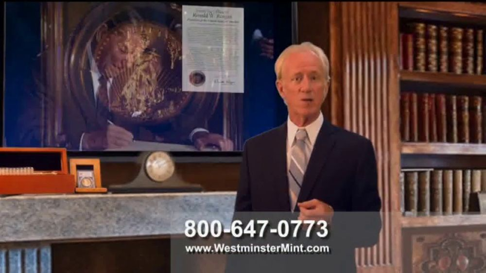 Westminster Mint $50 American Gold Eagle Coin TV Commercial, 'Pure Gold'