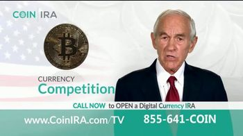 Coin IRA TV Spot, 'Learn Your Options' Featuring Ron Paul