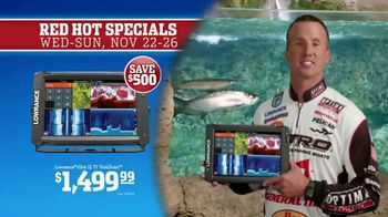 Bass Pro Shops 5 Day Sale TV Spot, 'Red Hot: Caps and Fish Finder' Ft. Kevin VanDam - Thumbnail 8