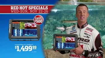 Bass Pro Shops 5 Day Sale TV Spot, 'Red Hot: Caps and Fish Finder' Ft. Kevin VanDam - Thumbnail 9