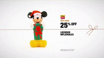 The Home Depot TV Spot, 'Winter Wonderland: Licensed Inflatables' - Thumbnail 10