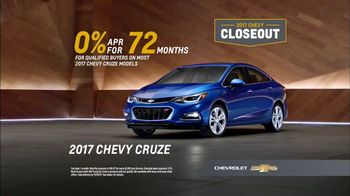2017 Chevy Closeout: Trade Up: 2017 Cruze thumbnail