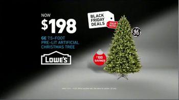 Lowe's Pre-Black Friday Deals Event TV Spot, 'Snowman: Pre-Lit Tree' - Thumbnail 10