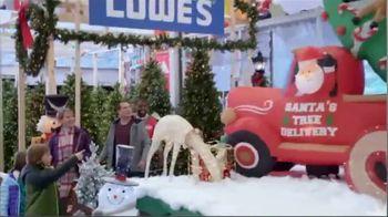 Lowe's Pre-Black Friday Deals Event TV Spot, 'Snowman: Pre-Lit Tree' - Thumbnail 6