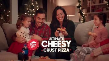 Pizza Hut Ultimate Cheesy Crust Pizza TV Spot, 'Loaded With Cheese' - Thumbnail 8