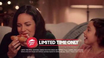 Pizza Hut Ultimate Cheesy Crust Pizza TV Spot, 'Loaded With Cheese' - Thumbnail 9