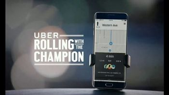 Uber TV Spot, 'Rolling with the Champion: Be Humble' Feat. Chauncey Billups - Thumbnail 1