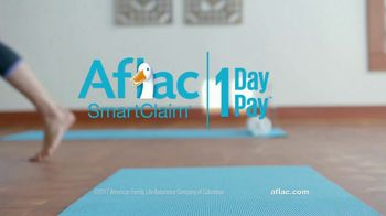 Aflac One Day Pay TV Spot, 'Yoga Class' - Thumbnail 10