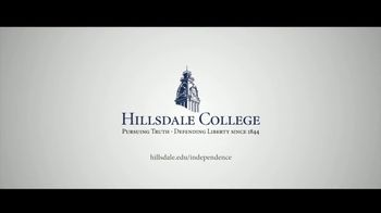Hillsdale College TV Spot, 'Independence' - Thumbnail 9