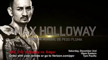UFC 218 TV Spot, 'UFC 218: Holloway vs Aldo 2' [Spanish] - 24 commercial airings
