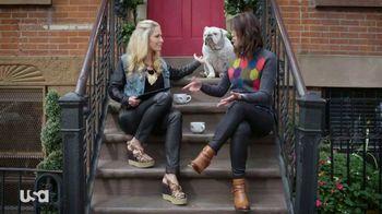 Ebates TV Spot, 'USA Network: Holiday Savings' Featuring Cat Greenleaf