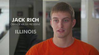 BTN Live Big TV Spot, 'Illinois Fans Are Orange Krush-ing It' - Thumbnail 5