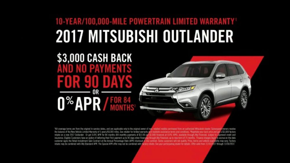 Mitsubishi 100th Anniversary Sales Event TV Commercial ...